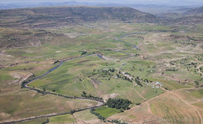 Maphutseng Valley, Lesotho