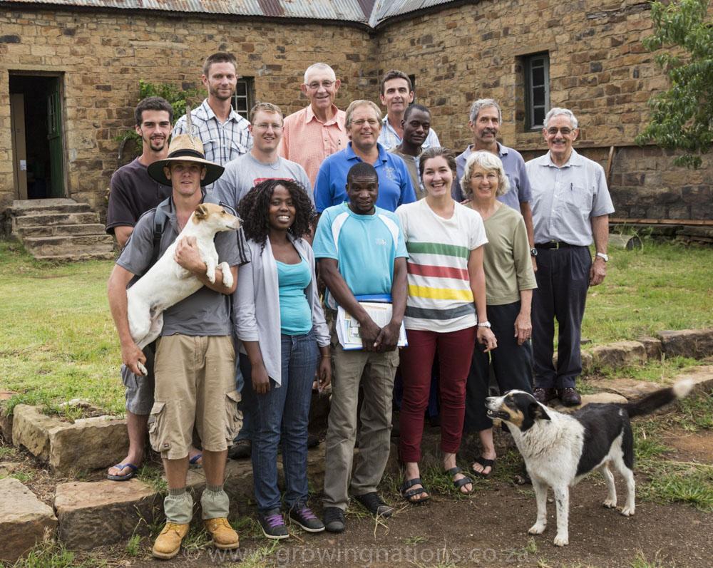 Growing Nations Farming Quest participants - February 2014