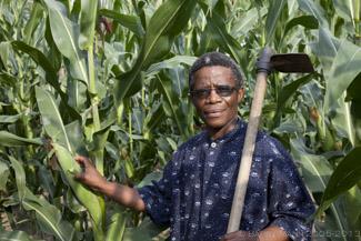 Ntate Moletsane good CA crops